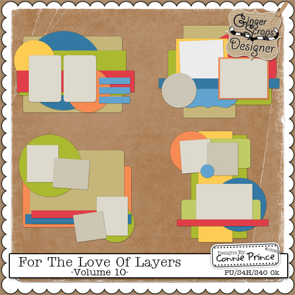 For The Love Of Layers - Volume 10 (CU Ok)