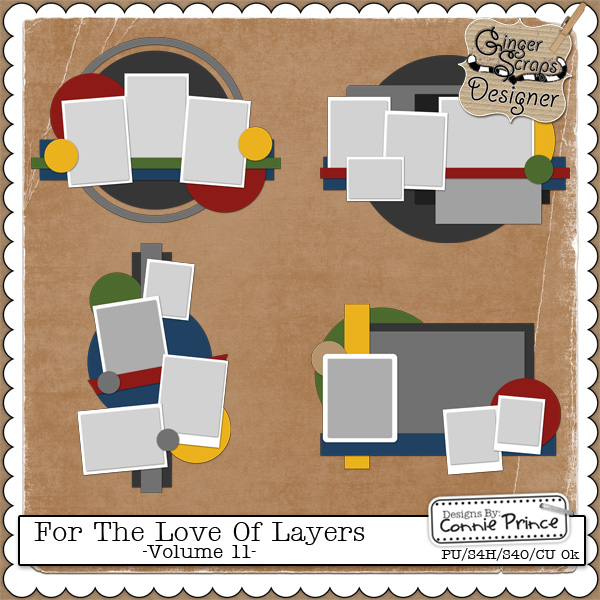 For The Love Of Layers - Volume 11 (CU Ok)