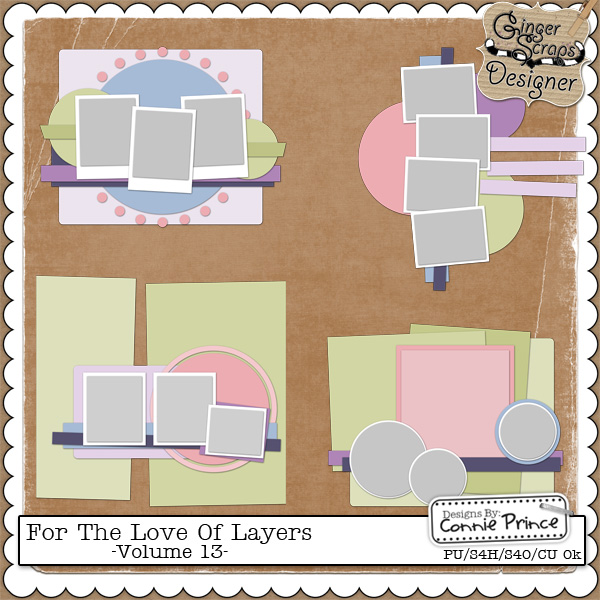 For The Love Of Layers - Vol 13 (CU Ok)