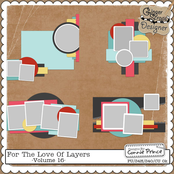 For The Love Of Layers - Vol 16 (CU Ok)