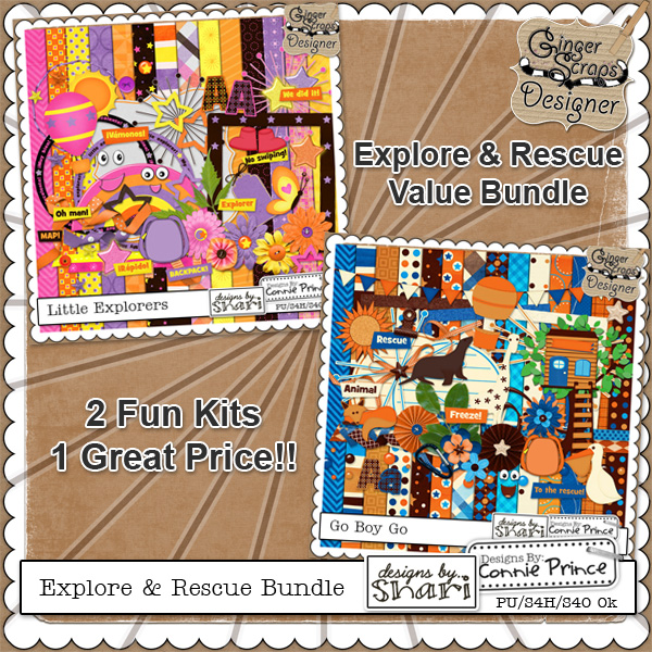 Explore &amp; Rescue - Value Bundle