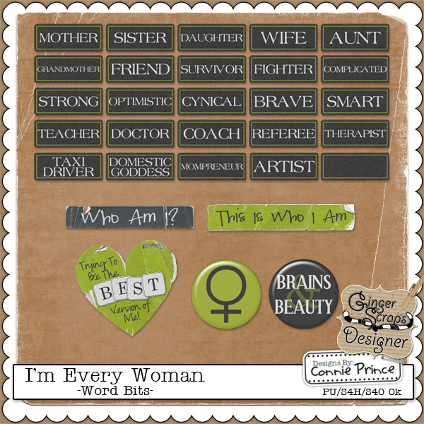I&#039;m Every Woman - WordBits