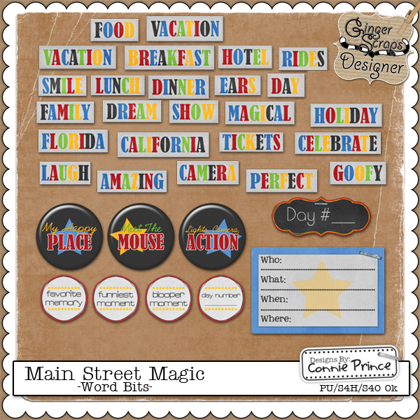 Main Street Magic - WordBits
