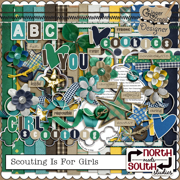 Scouting Is For Girls Kit by North Meets South Studios