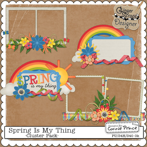 Spring Is My Thing - Cluster Pack