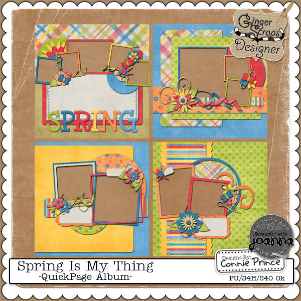Spring Is My Thing - QuickPage Album