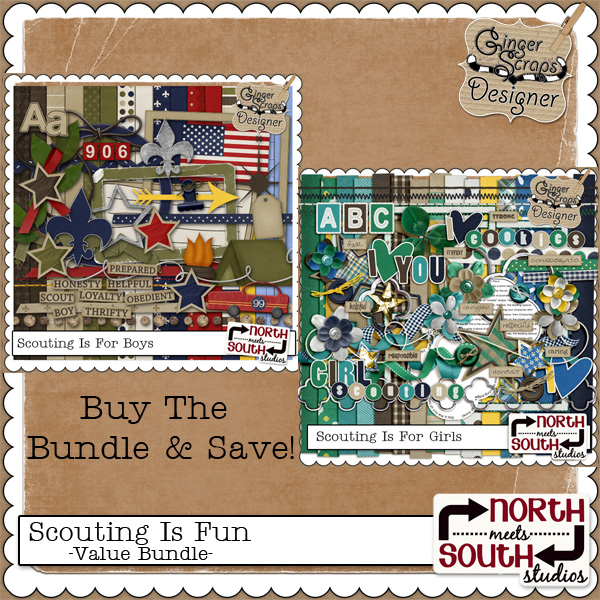 Scouting Is Fun - Value Bundle by North Meets South Studios