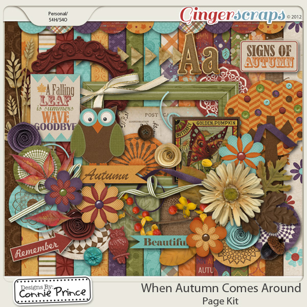 Retiring Soon - When Autumn Comes Around - Kit
