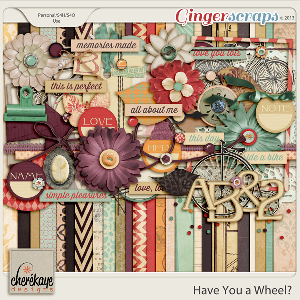 Have You a Wheel by Chere Kaye Designs