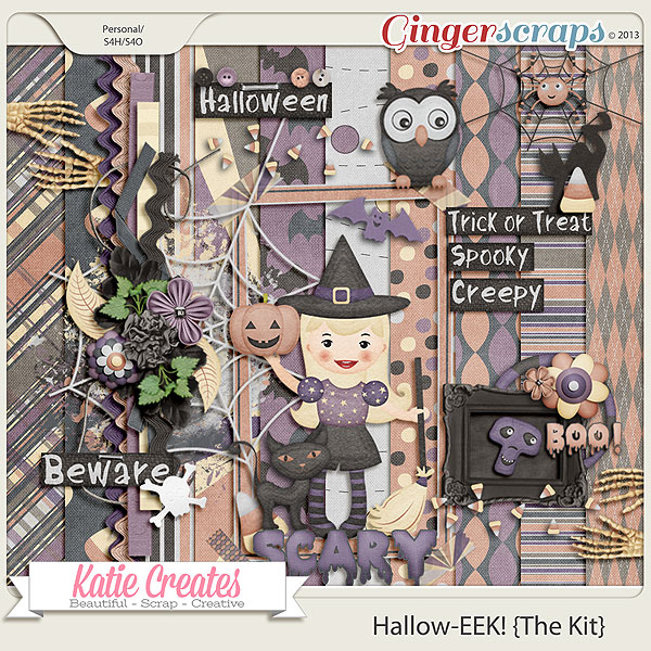 Hallow-EEK! {The Kit}