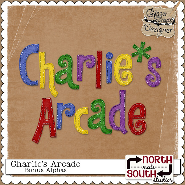 Charlie's Arcade {Bonus Alphas} by North Meets South Studios