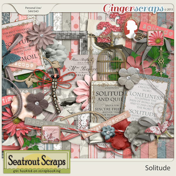 Solitude by Seatrout Scraps