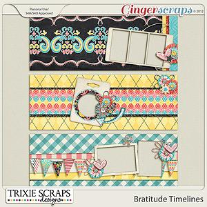 Bratitude Timelines by Trixie Scraps Designs