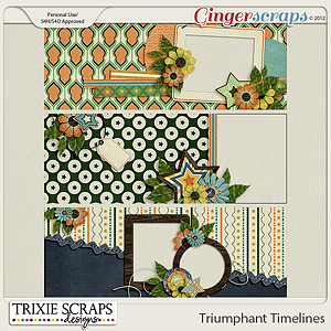 Triumphant Facebook Timelines by Trixie Scraps Designs