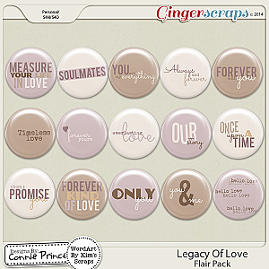Legacy Of Love - Flair Pack