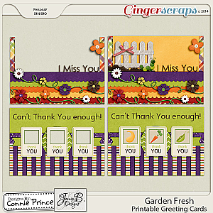 Retiring Soon - Garden Fresh - Printable Greeting Cards