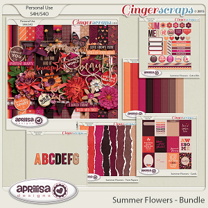 Summer Flowers - Bundle by Aprilisa Designs