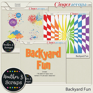 Backyard Fun ADD-ONS by Heather Z Scraps