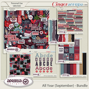 All Year {September} - Bundle