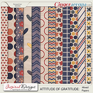 ATTITUDE OF GRATITUDE: Paper Pack (Mixed)