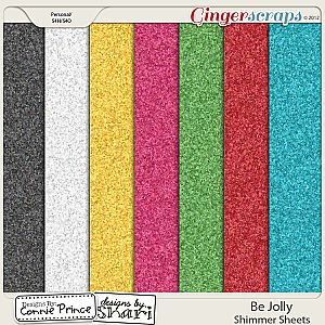 Be Jolly - Shimmer Sheets