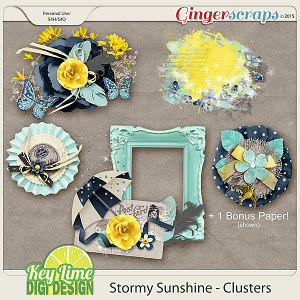 Stormy Sunshine Clusters