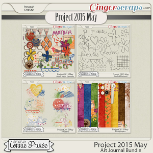 Project 2015 May - Art Journal Bundle