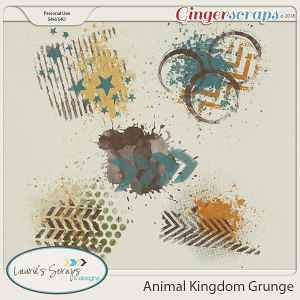 Animal Kingdom Grunge