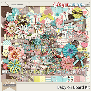 Baby on Board Kit by JoCee Designs