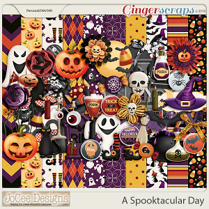 A Spooktacular Day Digital Kit