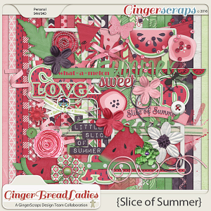 GingerBread Ladies Collab: Slice of Summer