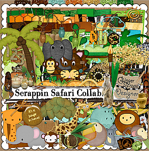 GingerScraps ~ Scrappin Safari 