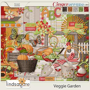 Veggie Garden by Lindsay Jane