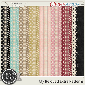 My Beloved Extra Pattern Papers Pack