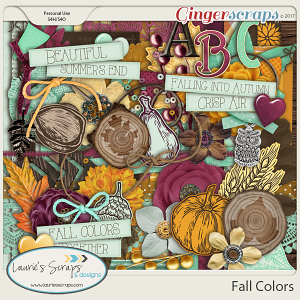 Fall Colors Page Kit