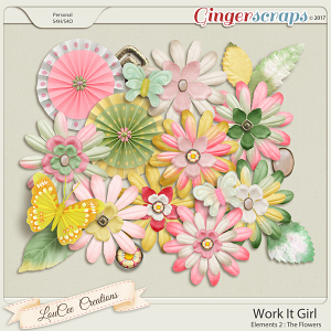 Work It Girl Elements 2 by LouCee Creations