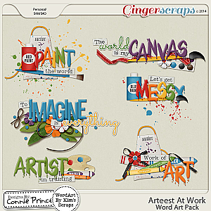 Arteest At Work - WordArt