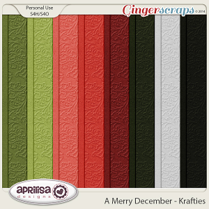 A Merry December - Krafties by Aprilisa Designs