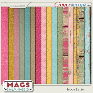 Hoppy Easter SPECIALTY PAPERS by MagsGraphics