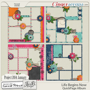Project 2014 January:  Life Begins Now - QuickPages