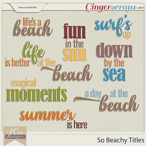 So Beachy Titles