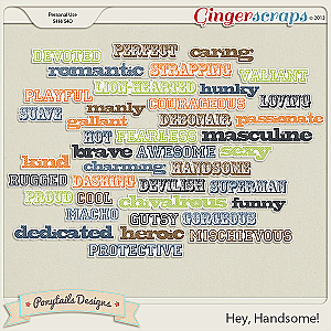 Hey, Handsome! Wordys
