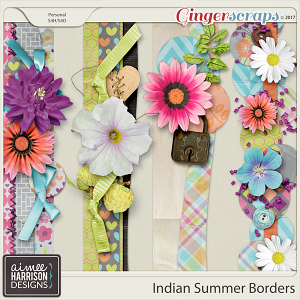 Indian Summer Borders by Aimee Harrison