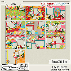 Project 2014 June:  Life Is Sweet - BragBook