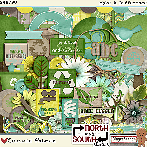 Make A Difference - Collab Kit by North Meets South Studios