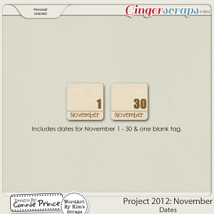 Retiring Soon - Project 2012: November  - Dates