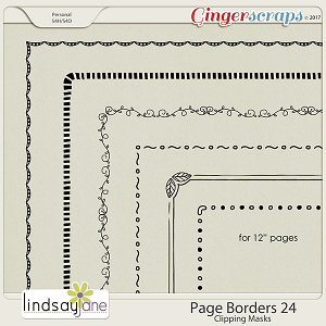 Page Borders 24 by Lindsay Jane