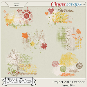 Project 2015 October - Inked Bits