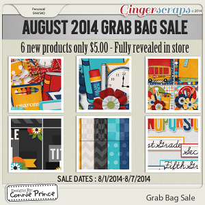 August 2014 - Grab Bag Sale - I Love School