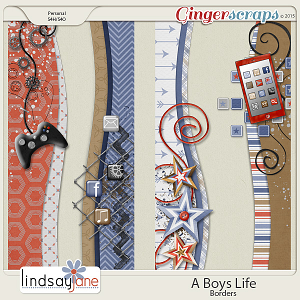 A Boys Life Borders by Lindsay Jane